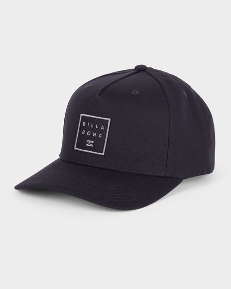 STACKED SNAPBACK CAP