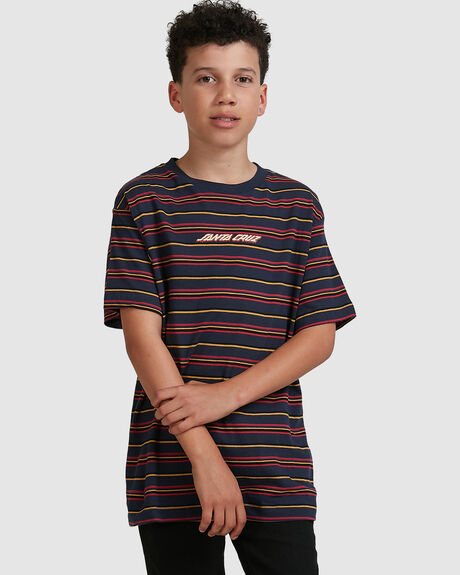 MELTING STRIP TEE - YOUTH