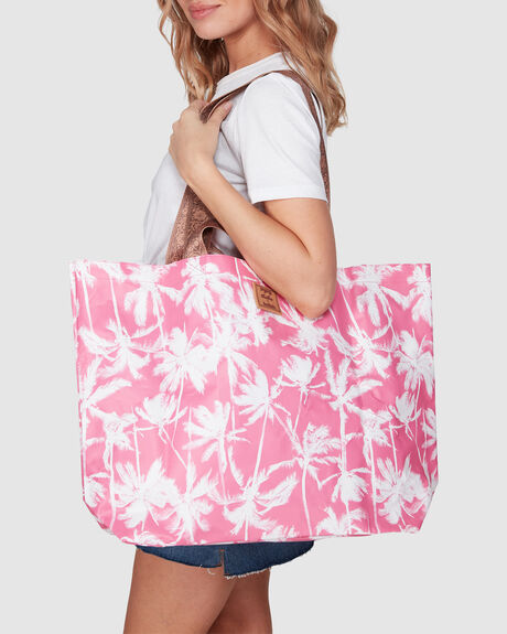 X KOLLAB PRETTY PALMS TOTE