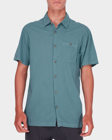 WAVE WASHED SHORT SLEEVE SHIRT