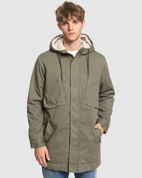 MENS MAGESTY CRUSH HOODED JACKET