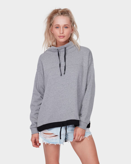 Rvca Sweat Mock Neck