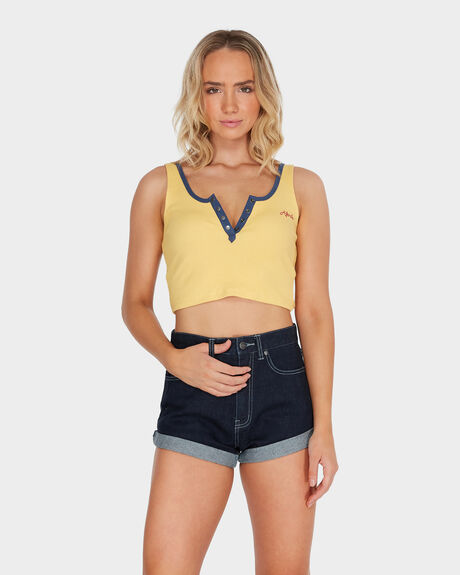 AFENDS HEARTBEAT SINGLET TOP