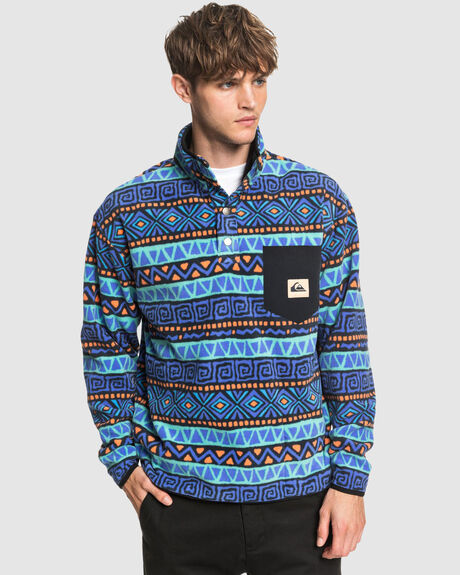 MENS HERITAGE BOXY HALF-SNAP FLEECE