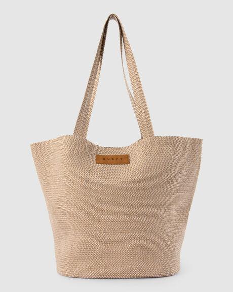 GISELE STRAW BEACH BAG