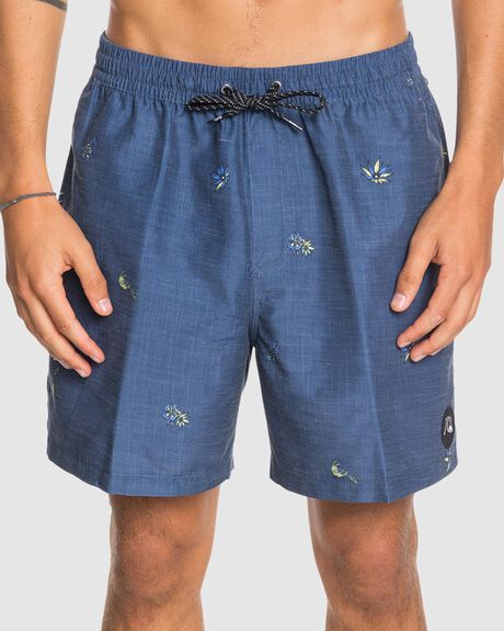 "MENS TROPICAL FLOW 17"" SWIM SHORTS"