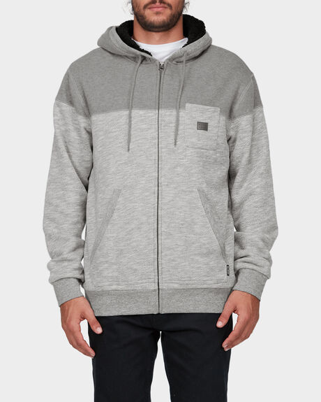 48 DEGREES SOUTH ZIP THROUGH HOODIE