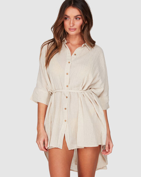 SO SURREAL SHIRT DRESS