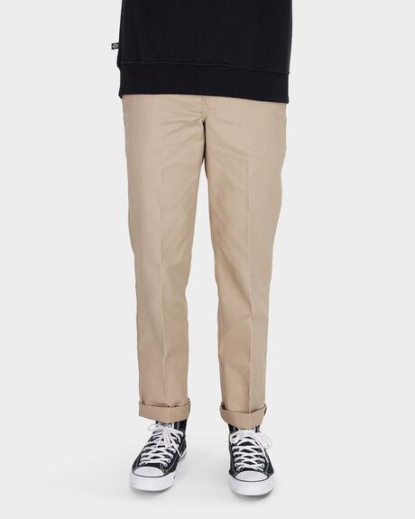 SLIM STRAIGHT FIT PANT