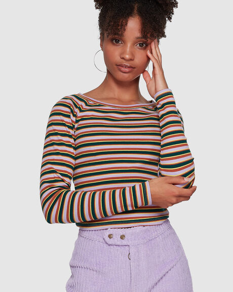 DESERT STRIPE TOP