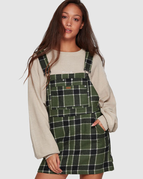 SLOUCHER PLAID PINNY