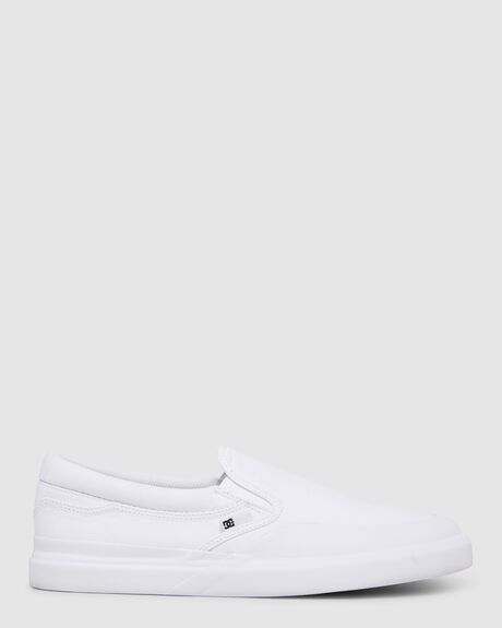 MENS DC INFINITE SLIP-ON LEATHER SHOES