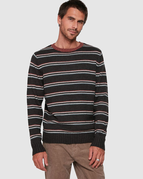MENS VINTAGE STRIPE KNIT