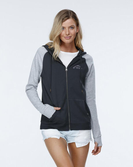 MOVE ON UP HOODED ZIP THRU