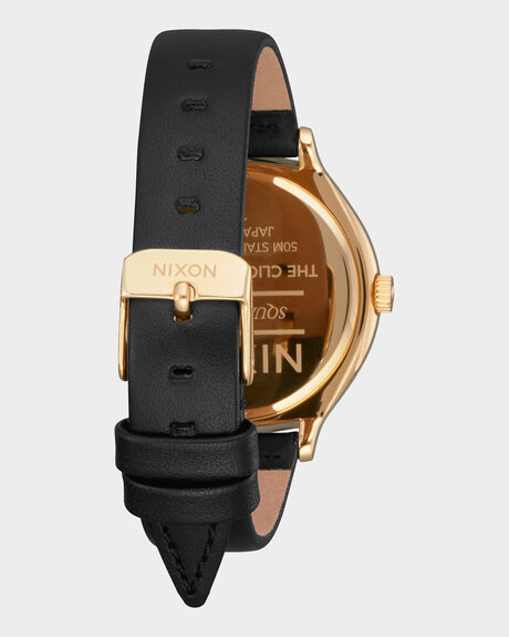THE CLIQUE LEATHER WATCH