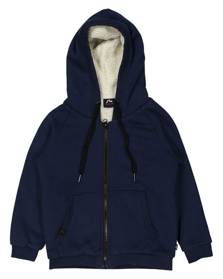 HECK ZIP THROUGH HOODED FLEECE RUNTS