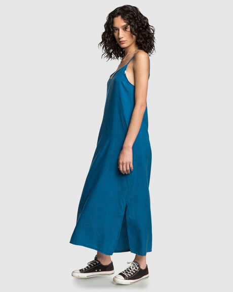 LONG FLUID DRESS