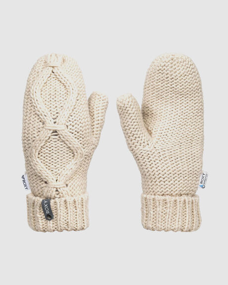 WOMENS WINTERENS KNITTED MITTENS