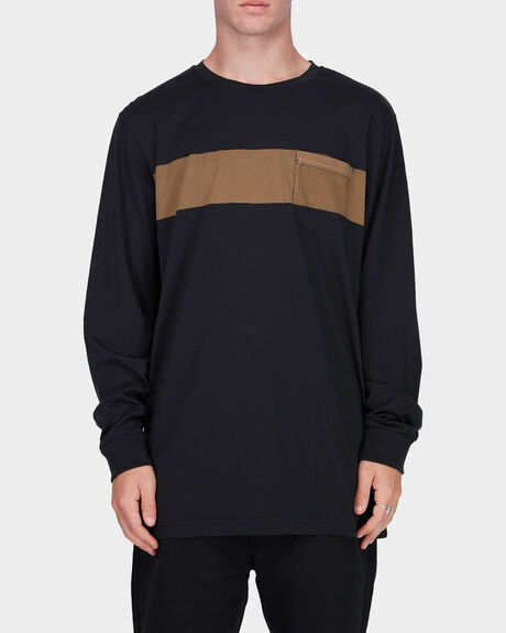 RVCA HIGH GRADE BAND LS TEE