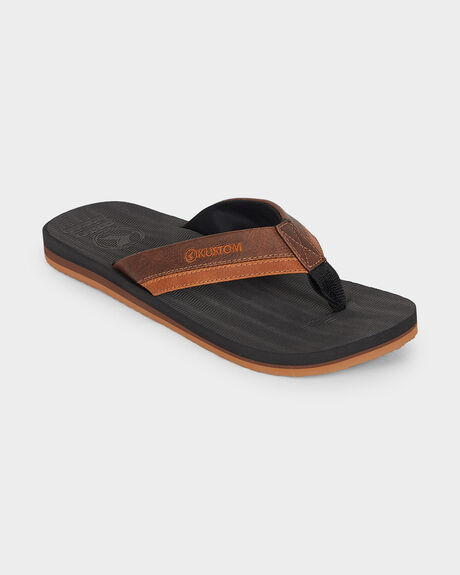 BURLEIGH BLACK/BROWN