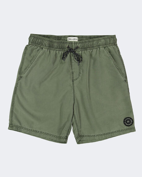 BOYS ALL DAY OVERDYE LAYBACK BOARDSHORTS