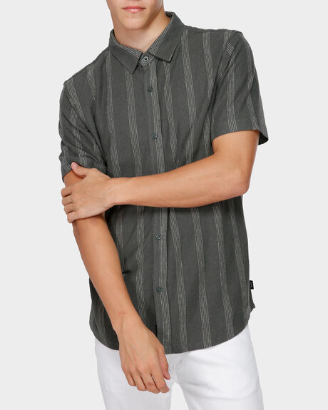 MISSING STRIPE SHORT SLEEVE SHIRT