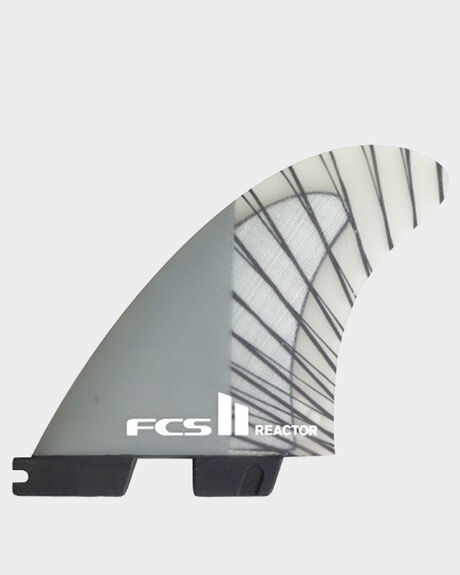 FCS II REACTOR PC CARBON CHARCOAL MEDIUM TRI RETAIL FINS
