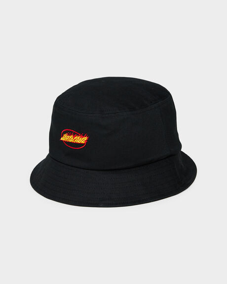 FLAME STRIP BUCKET HAT