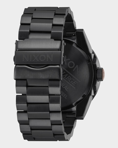 CORPORAL SS - ALL BLACK ROSE GOLD WATCH