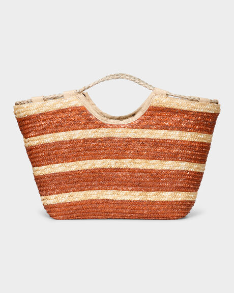 CANDICE STRAW BAG