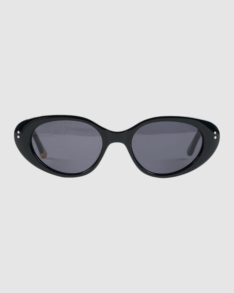 PLYMOUTH BLACK GLOSS SUNGLASSES