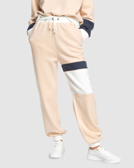 WOMENS CANCEL PLANS FLEECE TRACK PANTS