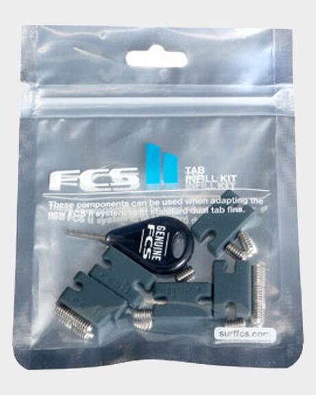 FCS II TAB INFILL KIT (6 X SCREWS + 3 X TAB INFILLS)