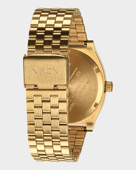 TIME TELLER ALL GOLD WATCH