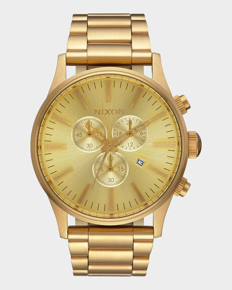 SENTRY CHRONO ALL GOLD WATCH