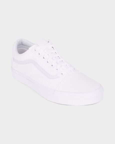 OLD SKOOL VANS TRUE WHITE SHOE
