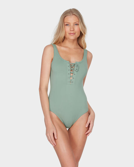 SUNCHASER LACE UP ONE PIECE