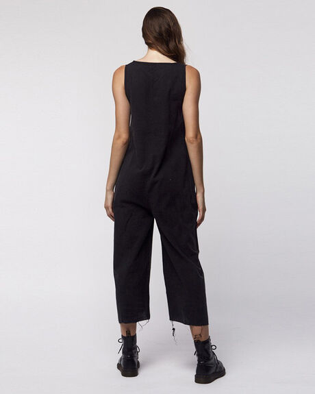 Destroy Laurel Jumpsuit - Vintage Black
