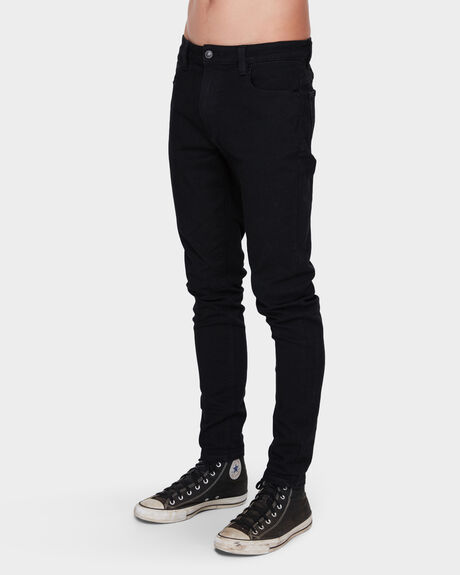 MENS A DROPPED SKINNY JEAN