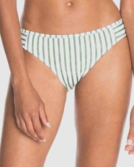 WOMENS PRINTED BEACH CLASSICS FULL BIKINI BOTTOMS