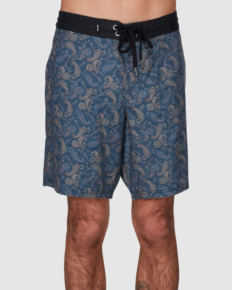DEPP - HEMP FIXED WAIST BOARDSHORT 18