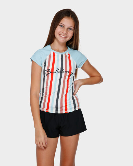 FUN FAIR STRIPE RASHGUARD