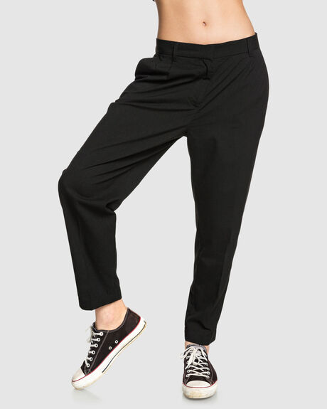 WOMENS CROPPED SUIT PANT