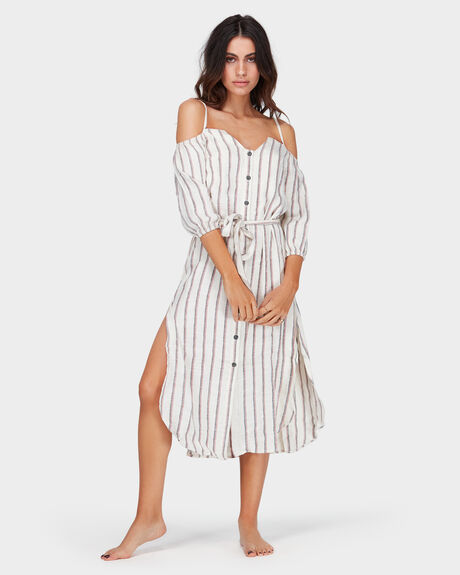 EVOLUTION STRIPE DRESS