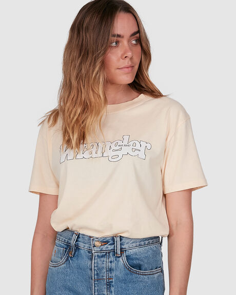WOMENS OUTLINES TEE
