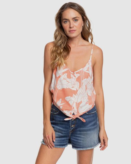 BECOME THE ONE - STRAPPY BUTTONED CROP TOP