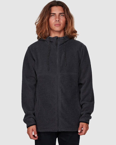 BOUNDARY BRUSHED ZIP THRU