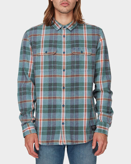 SUPER TANG LONG SLEEVE FLANNEL SHIRT