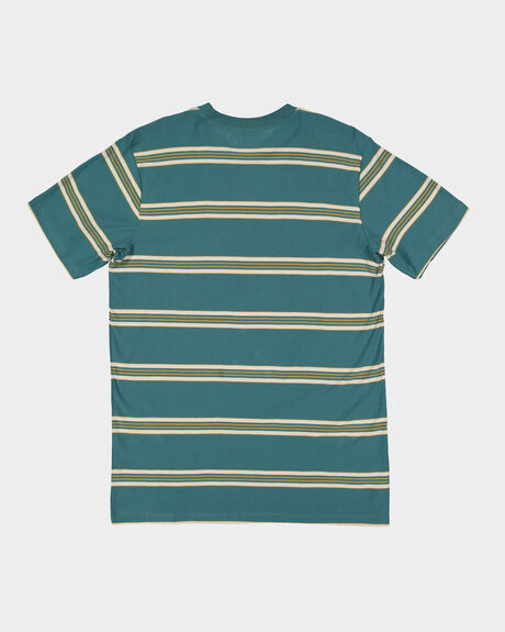BOYS DIE CUT STRIPE CREW