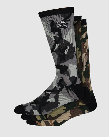 TRIPLE CAMO SOCK 3 PACK